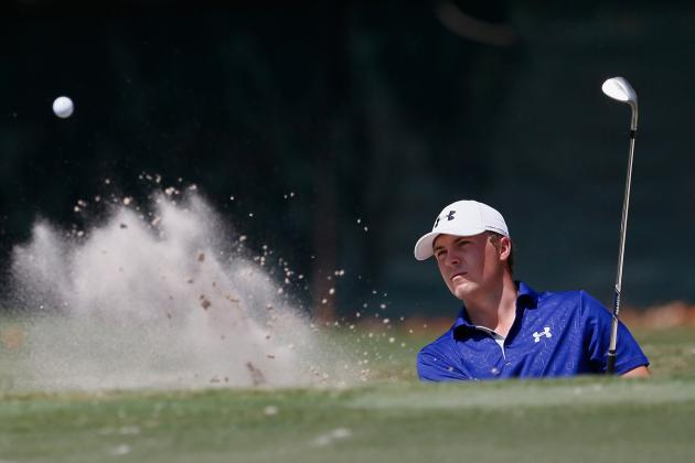 Rookie Jordan Spieth Challenges Scott and Stenson at Tour Championship