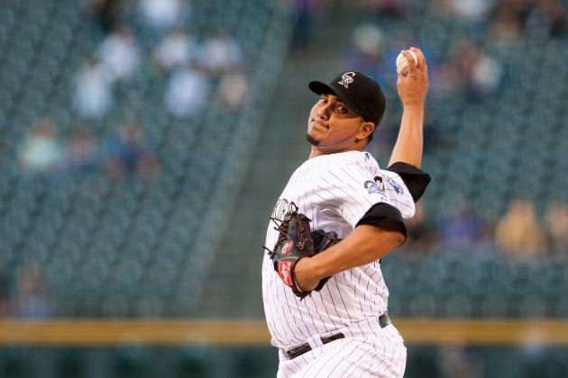 Rockies Defeat Diamondbacks as Jhoulys Chacin Wins 14th Game