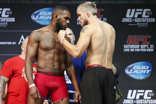 UFC 165 Live Blog for Jon Jones vs. Alexander Gustafsson