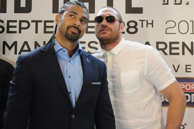 David Haye Withdraws from Fight with Tyson Fury Due to Cut