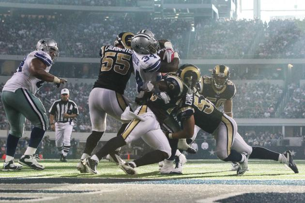 St. Louis Rams vs. Dallas Cowboys: Live Grades and Analysis for Dallas