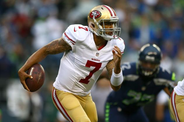 Colin Kaepernick Will Return to Ranks of Fantasy Elite in Week 3 vs. Colts