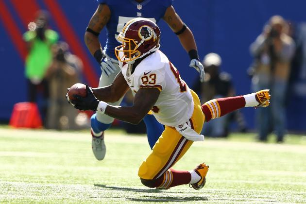 Fred Davis Injures Ankle, Questionable for Sunday