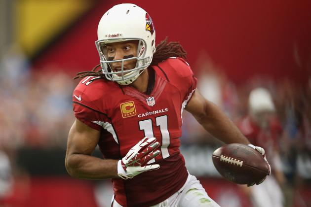Larry Fitzgerald Injury: Cardinals WR Is Must-Start Fantasy Stud Despite Ailment