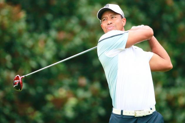 Tiger Woods at Tour Championship 2013 Tracker: Day 3 Highlights and Updates