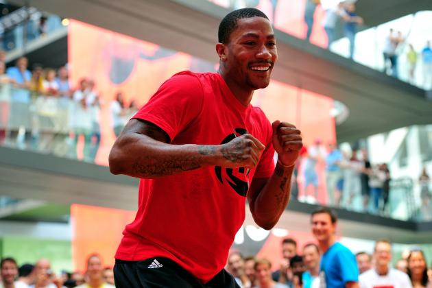 Derrick Rose Goes 'All-in for Chicago' in New Adidas Ad