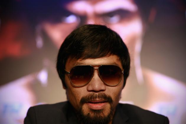 Manny Pacquiao Not Facing Floyd Mayweather Cost Him $100 Million