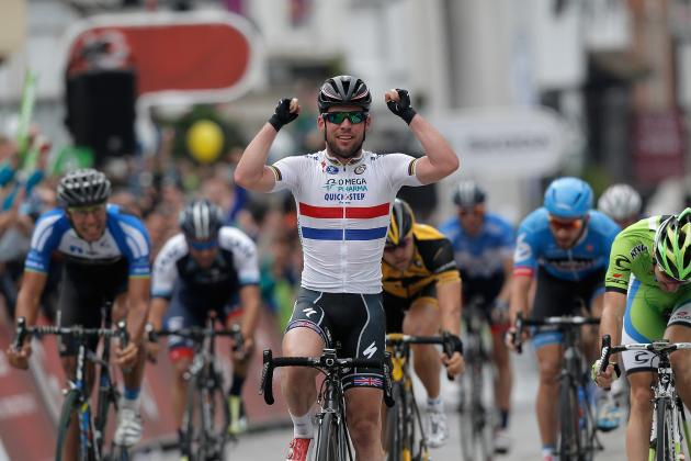 Tour of Britain 2013: Complete Breakdown of Stage 7 Results