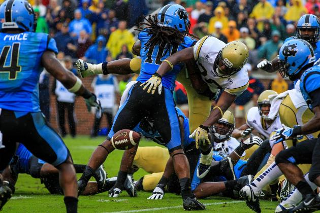Georgia Tech Rallies to Top North Carolina 28-20
