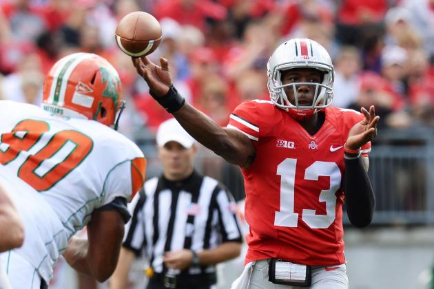 Kenny Guiton Shouldn't Start over a Healthy Braxton Miller