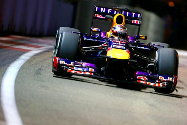 Singapore F1 Grand Prix 2013: Start Time, Lineup, TV Schedule and More