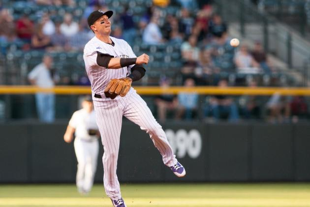 Troy Tulowitzki and Michael Cuddyer out Today vs. Diamondbacks