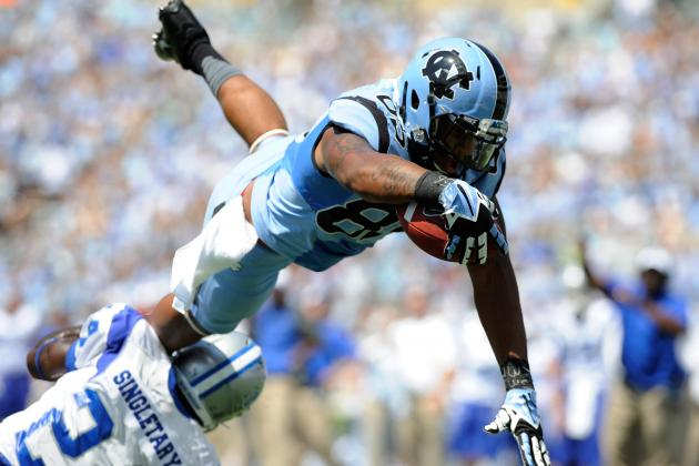 UNC Tight End Eric Ebron Is the NFL's Next Jermichael Finley