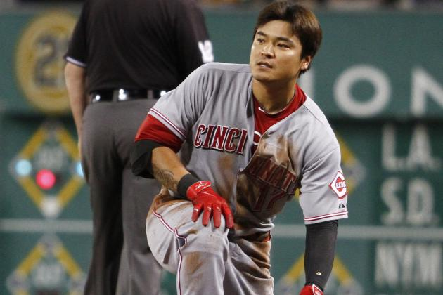 Choo out of Lineup After Injuring Himself on Slide