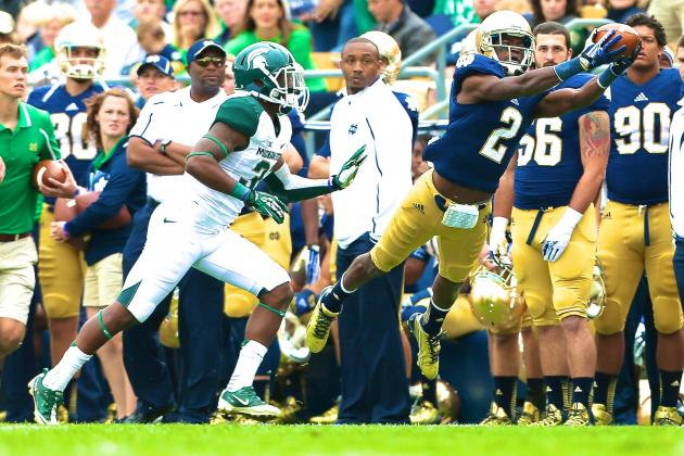 Michigan State vs. Notre Dame: Live Scores and Highlights