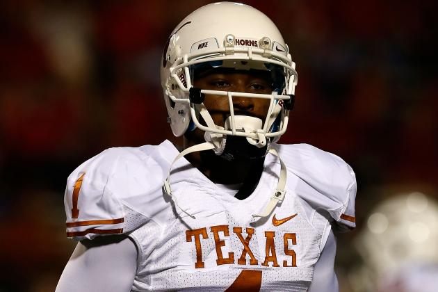 Texas' Leading Receiver Ruled out of K-State Game