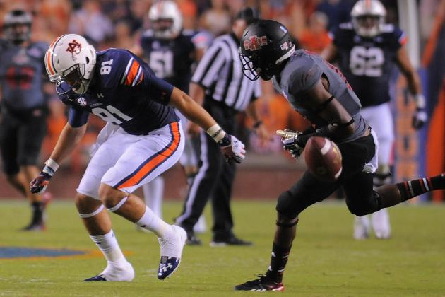 Auburn's Chris Davis, Craig Sanders out Against LSU Due to Injury