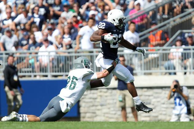 Penn State Football: 3-Headed Monster at RB Gives PSU a Shot in Big Ten Play