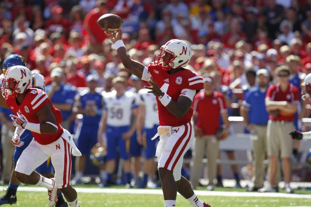 Nebraska Routs Jackrabbits 59-20 Without Martinez