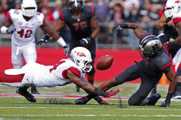 Arkansas Loss to Rutgers Proves Razorbacks Don't Stand a Chance vs. SEC Foes