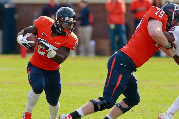 Parks, Hamm Lead Virginia Past VMI 49-0