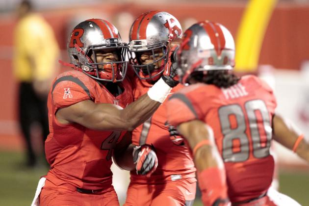 Rutgers Completes Comeback Win, Beating Arkansas 28-24