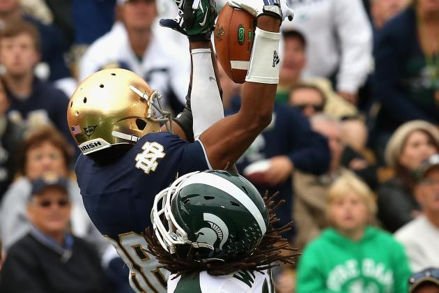 Michigan State vs Notre Dame: Top Individual Performances from Saturday's Battle