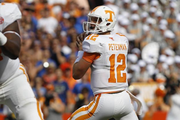 Tennessee vs. Florida: Butch Jones Makes Big Mistake with Premature QB Change