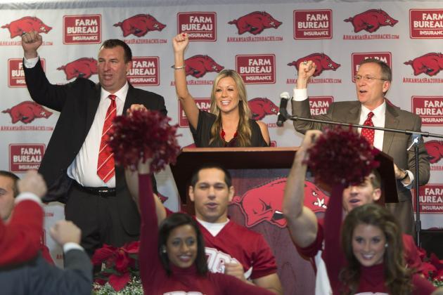 Karma Bites Bret Bielema, Arkansas Against Rutgers