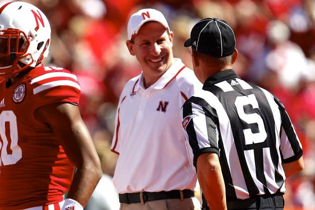Blowout Win Takes Some Heat off Nebraska Coach Bo Pelini —for Now