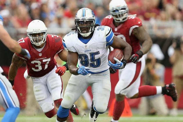 Joique Bell Is Fantasy Football Gold If Reggie Bush Sits Out in Week 3