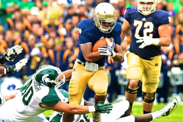 Notre Dame Football: This Is What Happens When You Don't Have a Running Game