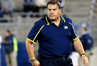 Brady Hoke is in danger of suffering his first loss of the 2013 season.