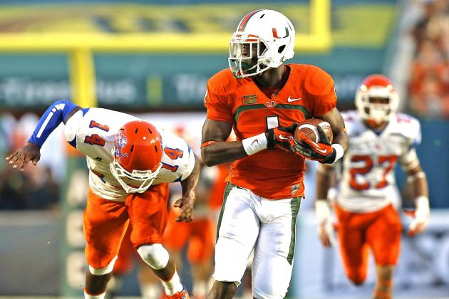 Miami vs. Savannah State Game Shortened After Canes Post 77 Points in 3 Quarters