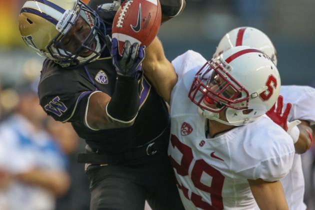 Stanford All-American Ed Reynolds, Texas LB Steve Edmond Ejected for Targeting