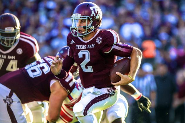 Hangover? What Hangover? Texas A&M Continues to Look Unstoppable Against SMU
