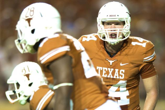 David Ash Injury: Updates on Texas QB's Head, Likely Return Date