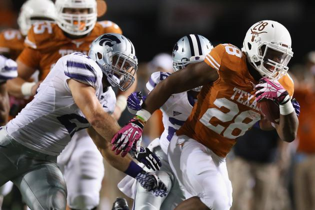 Kansas State at Texas: Live Game Grades and Analysis for the Longhorns