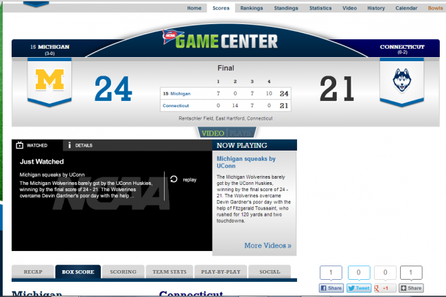 Screenshot: NCAA.org (Adam Biggers)