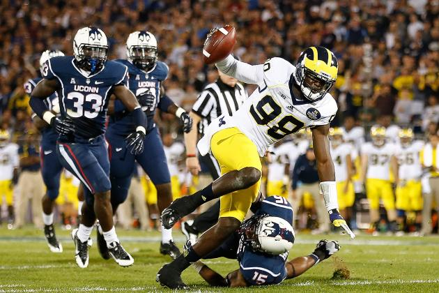 Despite Preseason Hype for Devin Gardner, Michigan Has a Quarterback Problem