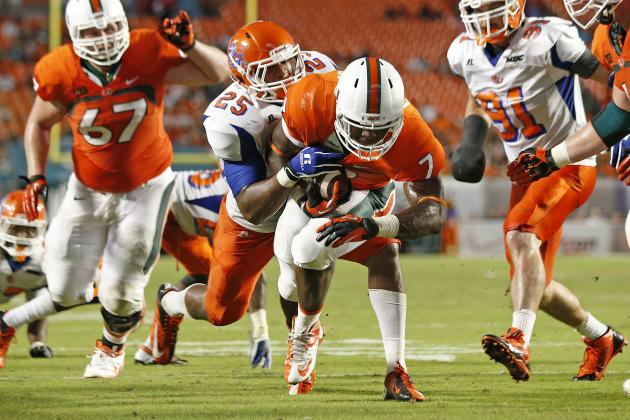 Miami Football: Canes Set School Scoring Record, Look Ready for ACC Play