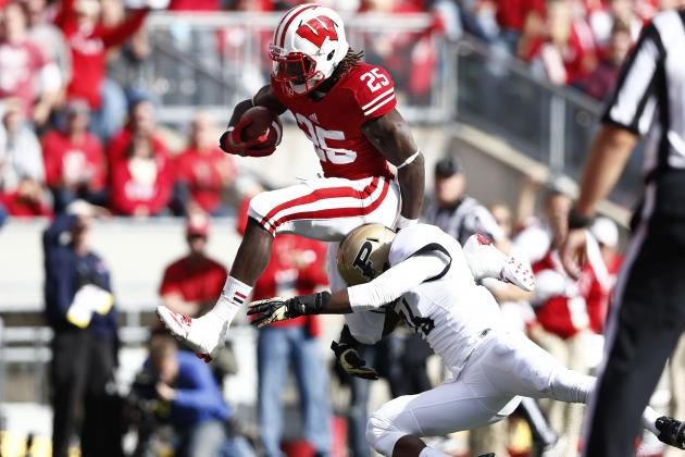 Wisconsin vs. Purdue: Melvin Gordon Furthers Case to Be Badgers Featured Back