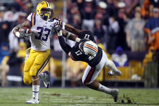 Did LSU's Jeremy Hill Play His Way Back into Good Graces with Les Miles ?
