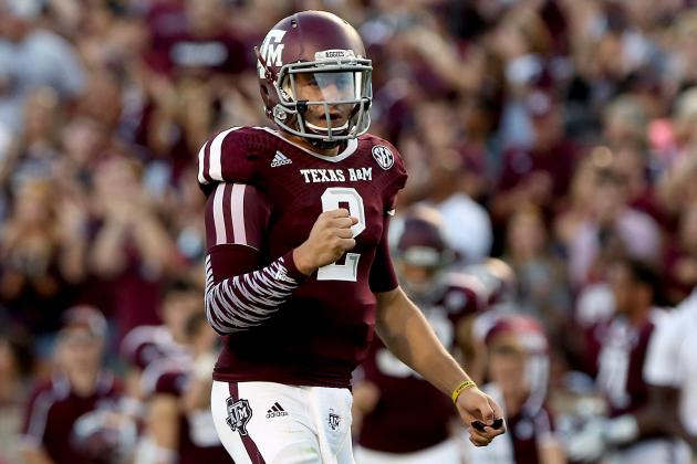 Johnny Manziel's Updated 2013 Heisman Outlook After Win over SMU