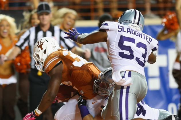 Kansas State Falls Behind, Can't Catch Texas in 31-21 Loss