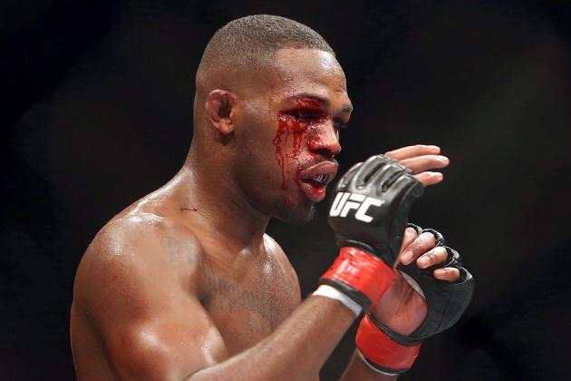 Jon Jones Put on Stretcher, Hospitalized After UFC 165 Title Defense (Updated)