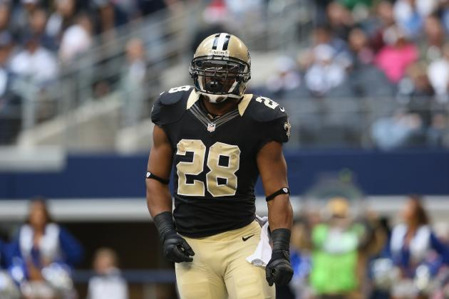 Mark Ingram Injury: Updates on Saints RB's Toe