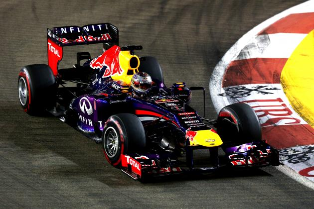 Singapore Grand Prix 2013: Live Lap-by-Lap Updates, Highlights, Recap and More