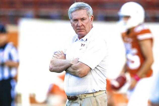Texas Beats Kansas State to (Temporarily) Stop Mack Brown's Bleeding