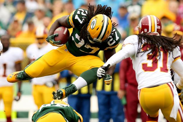 Eddie Lacy Fantasy Owners Should Bench RB for Week 3